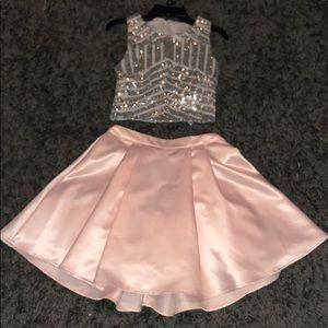 B. Darlin 2 pc prom dress